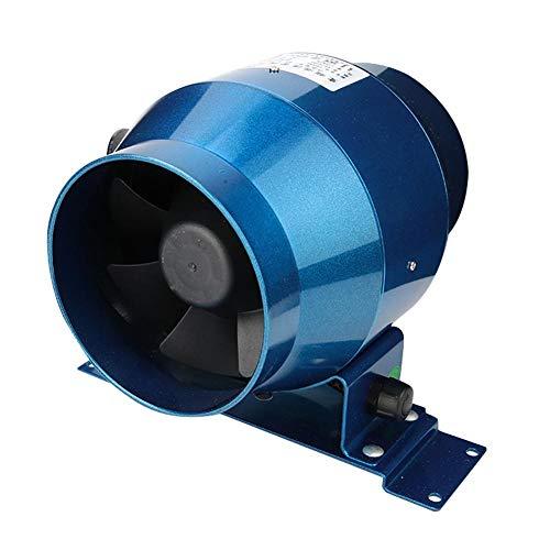Inline AC220V-Kanalventilator Stufenloser Pipeline-Lüfter mit einstellbarer Geschwindigkeit für die Industrie für Pipelines