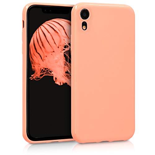 kwmobile Hülle kompatibel mit Apple iPhone XR - Handyhülle - Handy Case in Koralle matt