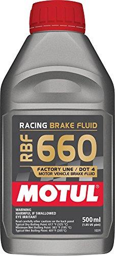 Motul Rbf 660 Dot-4 Racing Brake Fluid 500 mL