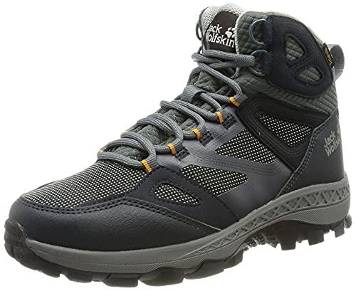 Jack Wolfskin Damen Downhill Texapore Walking-Schuh, Dark Blue/Grey, 39.5 EU