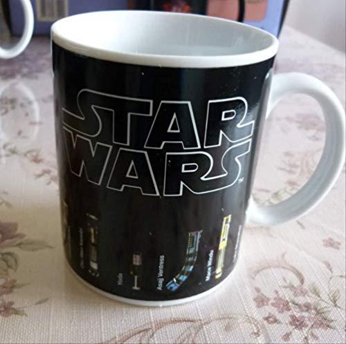 Dudu Tassen Star Wars Lichtschwert-Tasse, hitzebeständig, mit wechselnden Farben -