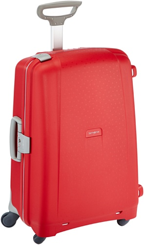 Samsonite Aeris Spinner M Suitcase Luggage, 68 cm, 64.5 Litre, Red (Red)