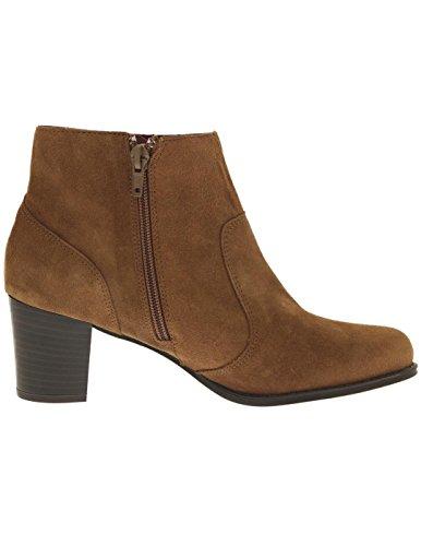 Desigual Damenschuhe SHOES CRIS PASLEY Ankle Boot braun (38)