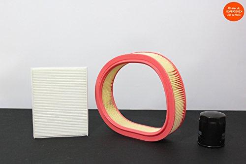 Set met 3 filters (lucht - olie - Abitacol)