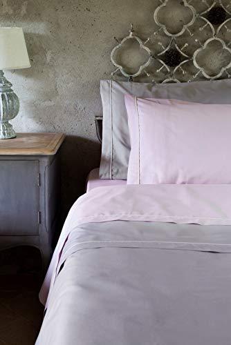 Blanc Mariclò - Juego de sábanas para cama de 2 plazas