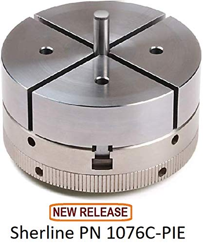 Buy Discount Sherline 1076C-PIE 3.1″ 4-Jaw Chuck with Pie Jaws