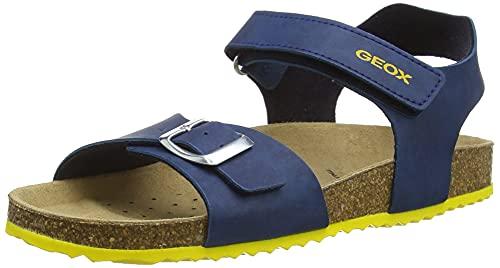 Geox J Ghita Boy B, Sandali, Blu, 32 EU