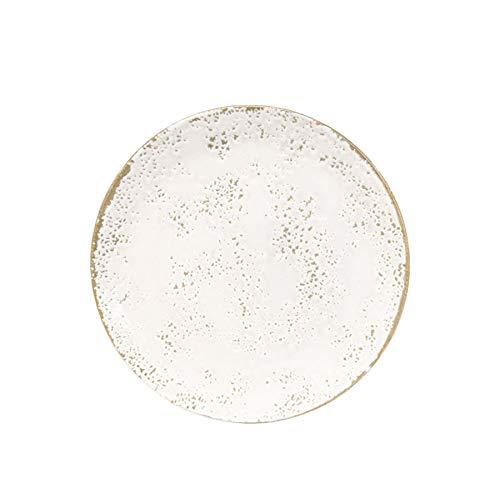 Churchill Umbría blanco Postre Bowl - Modern Contemporary Gres Herramientas de Cocina Vajilla - 20cm - Blanco