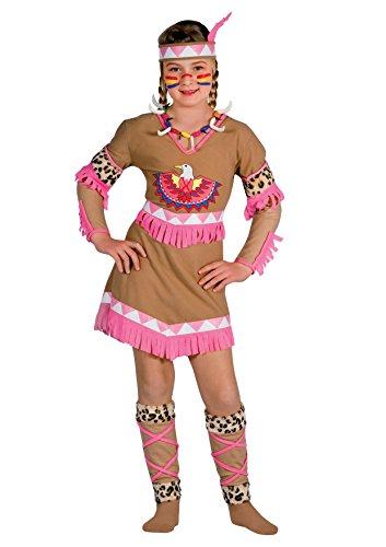 Ciao 10799 - Indiana Raggio di Luna Costume Bambina con Make-Up, 6-8 Anni