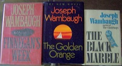 Joseph Wambaugh Library in a Box! (Finnegan's Week, Black Marble , Golden Orange)
