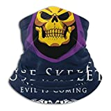 JARVBY Multifunktionstuch | Schlauchtuch House Skeletor Evil Is Coming He Man Masters Of The Universe Warmer Neck Gaiter Windproof Mouth Face Ma-sk Magic Scarf Bandana Balaclava