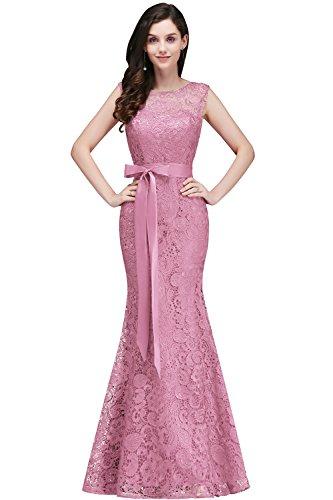 Babyonline® Ärmellos Spitze Chiffon Hochzeitskleid Brautkleid 42