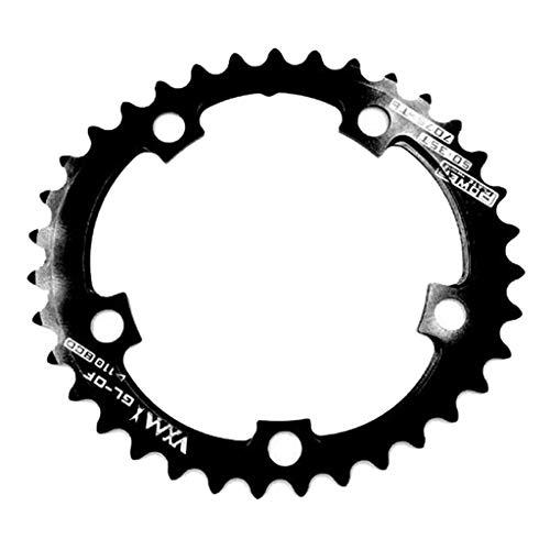 MagiDeal Plato de Bicicleta 35T / 50T 110 BCD 9-11 Velocidades Apto para Bicicletas SparkLAN, FSA