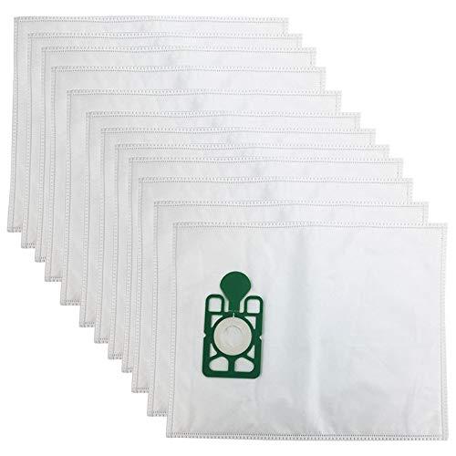 Style wei Accesorios para Aspiradora 12pcs Vacuum Cleaner Bags HEPA Bolsa filtrante de Polvo de reemplazo for Numatic HVR200 Henry James NVH200, NRV200, NV200, NV250, NVR (Color : White)