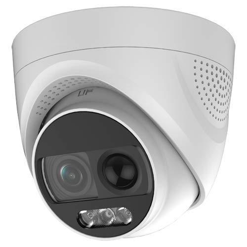 4-in-1 dome-camera voor buiten, met sirene en flitser.