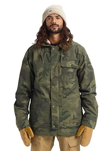 Burton Mens Dunmore Jacket, Worn Camo, X-Large