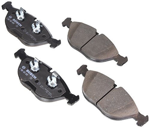 Bosch 0986424649 EuroLine Disc Brake Pad Set for Select Audi TT; Bentley Arnage, Continental; BMW 750iL, Z8; Chrysler Crossfire; Mercedes: C43, CLK55, E430/E500, E55, S430/S500, SLK32; VW Golf - FRONT