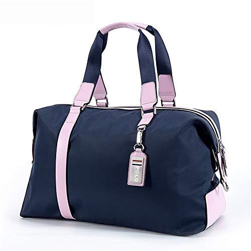 Zhengowen OS Golf Seesack Tragbare Golf Reisetasche Leichte Große Kleidung Tasche wasserdichte Wochenende Rucksack Unisex Golftasche (Farbe : Rosa, Größe : 43.5x26x18cm)
