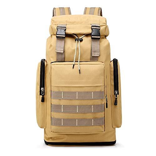 T-ara el nuevo Los nuevos camuflaje al aire libre del alpinismo 40L bolsa mochila de senderismo hombres y mujeres de gran recorrido de la capacidad de campo mochila impermeable, resistente al desgaste