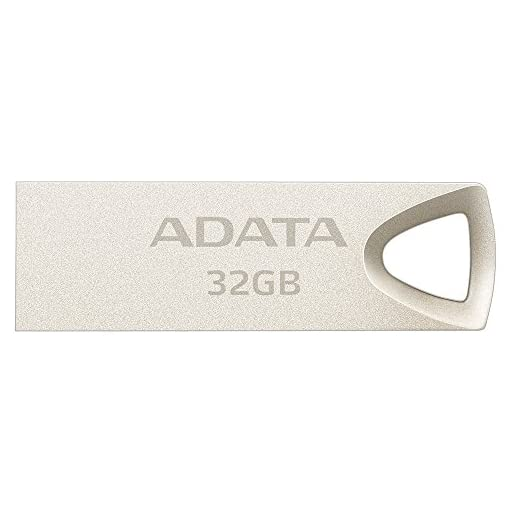 ADATA AUV210-32G-RGD 32GB USB 2.0 Capacity Beige Unidad Flash USB - Memoria USB (32 GB, USB 2.0, USB Type-A Connector… 1