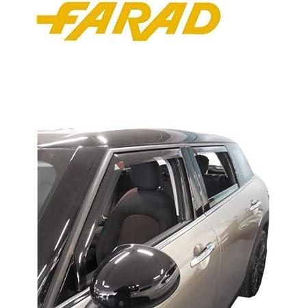 Deflettori Aria e Pioggia antiturbo per Fiat 500 X 5 Porte 2015 G3 aerodinamico Alta Resistenza agli impatti
