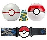 Boti Europe PKM'N'GO GUERT - Cinturón con Pokeball con una Figura de Pokémon, Se envían AL AZAR