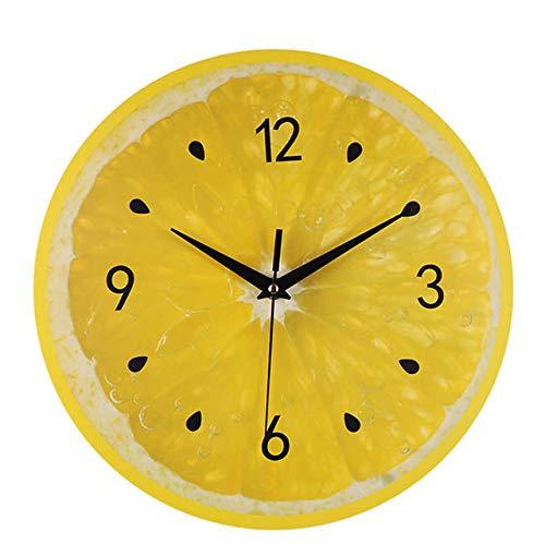 ZHXH Creative Silent Sweep Moderne Oberflächenkunst Wanduhren Dekorative Uhr Digitaluhr Wand Kindermechanismus