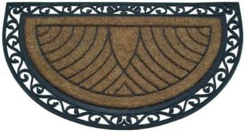 Abbott online shopping Collection Coir Rubber Doormat Jumbo Discount is also underway Semicircle