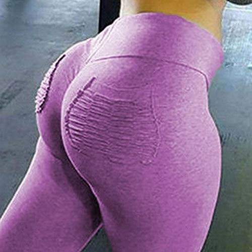 Mdsfe Yoga-panty met trainingsbroek voor dames met hoge taillezak Small roze-A8816