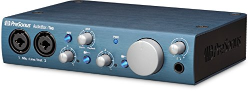 Presonus AudioBox iTwo 2x2 USB 2.0/iOS Interface, PC/Mac 2 Mic Pres