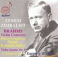 Efrem Zimbalist Plays Brahms