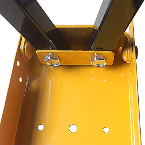 FEMOR 2 Stück Falt-Arbeitsböcke Klappbock bis 120kg belastbar platzsparend - 9