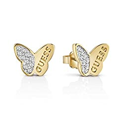Material: brass Color: silver/gold Stones: crystal white Length: 0.87cm Closure: pierced