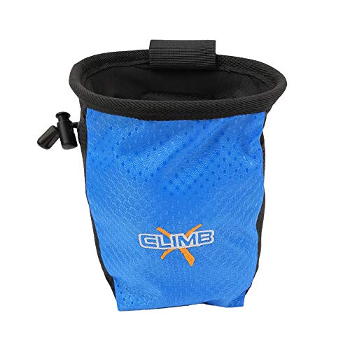 Climb X Gear Addict Chalk Bag (Black)