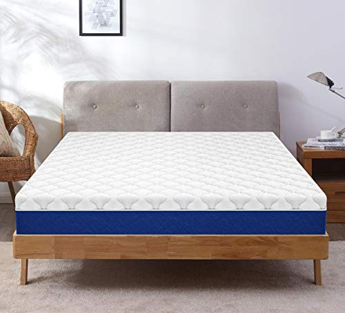 Comforto 8 Inch Dreamer Plus | Organic Latex Mattress with Memory Foam and Pocket Springs | Medium Firm Feel (78x70x8 Inches, King Size)