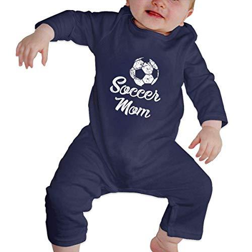 Zeyustge - Body de algodón orgánico para bebé (12-18 meses), color azul marino