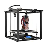 Adventurers Creality Ender-5 Plus 3D Printer 4.3 Inch Touchscreen Removable Tempered Glass Plate 3D Printer Auto Bed Leveling, Resume Print, Filament Run-Out Detection, Dual Z-Axis Supported Printer