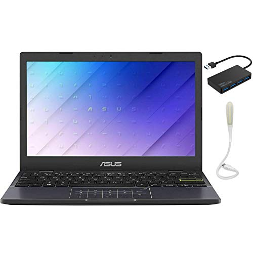 """ASUS Laptop L210 Ultra Thin Laptop, 11.6"""" HD Notebook, Intel Celeron N4020,4GB RAM,64GB, NumberPad, Win 10 S, 1 Year Microsoft 365 Personal Included, Bundle with TSBEAU Accessory Set"""