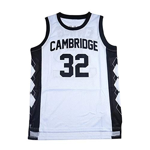 Patrick Ewing #32 Embroidered High School Basketball Jersey H5 White