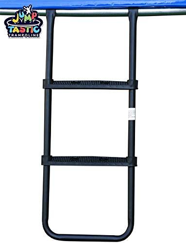 commercial JumpTastic Trampoline Ladder / Universal Trampoline Accessories / Three Wide Non-Slip Kids … trampoline ladders