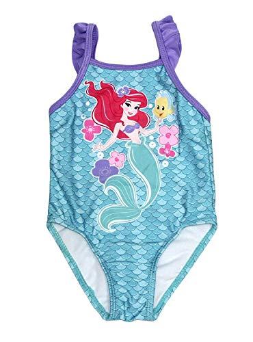 Disney Little Mermaid Princess Ariel 1 Piece Baby Girls Swimsuit