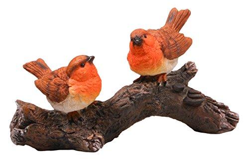 Boerderij 3228-G 10 x 17 x 11 cm Real Life Kat Beeldje - Multi-Colour-P 2 Vogels op een tak 20 x 11 cm Meerkleurig