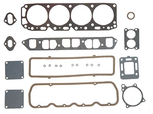 Full Gasket Set compatible with Mercruiser 140 LX Chevy MARINE 181 3.0 Head+Manifold+Oil Pan 2-PC (Before Serial #6229719)