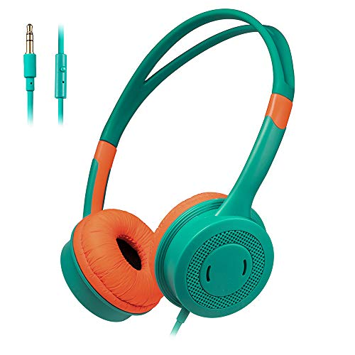 Kinderen Hoofdtelefoon, Kids Wired Headphone Over Ear Met Hoofdtelefoon Volume Limited Koptelefoon Met 3,5 Mm Jack Voor Jongens Meisjes Children School Travel PC MP3