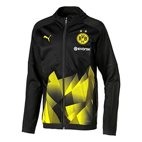 PUMA Borussia Dortmund International Cup Stadium Jacket Jacke (XXL, schwarz)