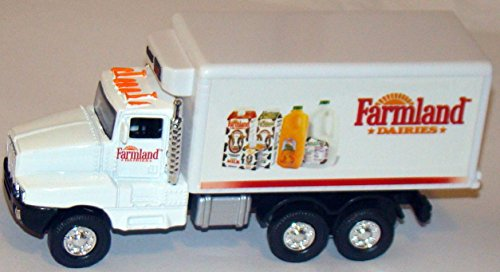 Farmland Refrigerated-style Box Truck - 5½-inch Semi-trailer with Pullback Action (1/55 scale)