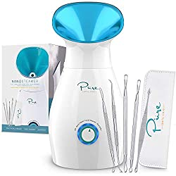 Nanosteamer – Large 3-in-1 Nano Ionic Facial Steamer with Precise Temp Control