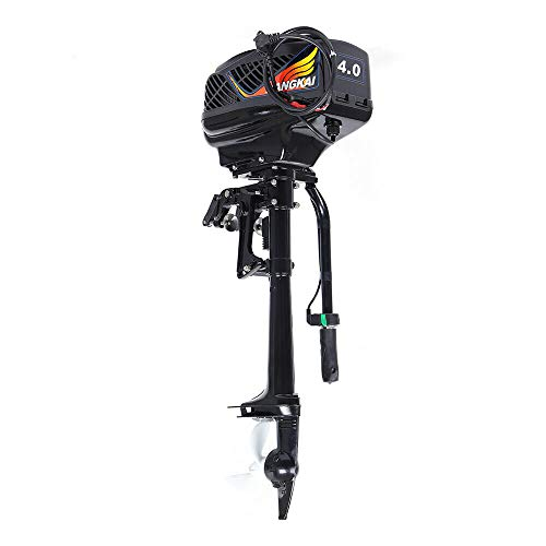 Read About KDHARMR 4HP Brushless Electric Outboard Motor Horsepower Fishing Boat Propeller Engine Aq...