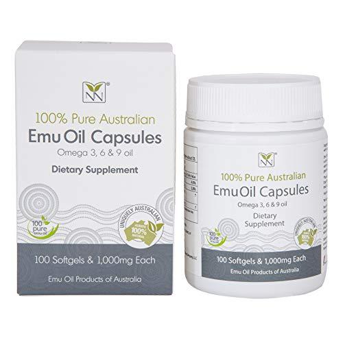 Cápsulas de aceite Emu de grado farmacéutico