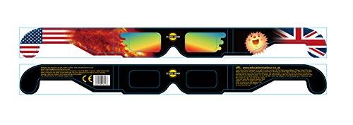 Education Harbour Limited - Gafas para eclipses solares (2 Pares)